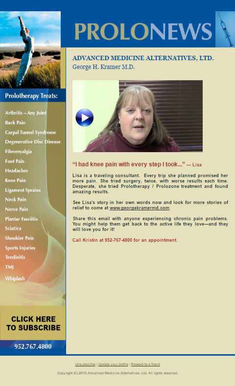 Click for Video Testimonial